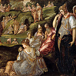 Jacopo Tintoretto – The Miracle of the Loaves and Fishes, Metropolitan Museum: part 2