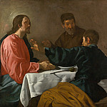 Metropolitan Museum: part 2 - Velázquez (Spanish, Seville 1599–1660 Madrid) - The Supper at Emmaus