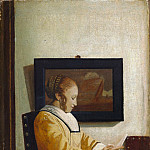 Imitator of Johannes Vermeer – A Young Woman Reading, Metropolitan Museum: part 2