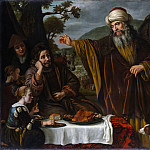 Jan Victors – Abraham's Parting from the Family of Lot, Metropolitan Museum: part 2