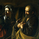 Metropolitan Museum: part 2 - Caravaggio (Italian, Milan or Caravaggio 1571–1610 Porto Ercole) - The Denial of Saint Peter