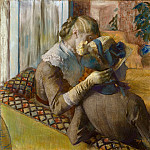 At the Milliner's, Edgar Degas