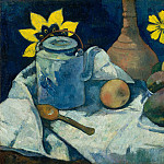 Still Life with Teapot and Fruit, Paul Gauguin