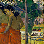 Three Tahitian Women, Paul Gauguin