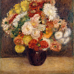 Auguste Renoir – Bouquet of Chrysanthemums, Metropolitan Museum: part 2