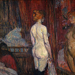 Woman before a Mirror, Henri De Toulouse-Lautrec