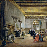 Metropolitan Museum: part 2 - Francesco Guardi - The Antechamber of the Sala del Maggior Consiglio