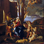 Nicolas Poussin – The Rest on the Flight into Egypt, Metropolitan Museum: part 2