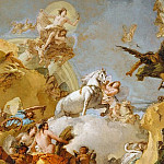 Giovanni Battista Tiepolo – The Chariot of Aurora, Metropolitan Museum: part 2