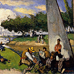 The Fishermen (Fantastic Scene), Paul Cezanne