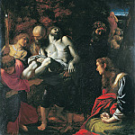 Metropolitan Museum: part 2 - Annibale Carracci - The Burial of Christ