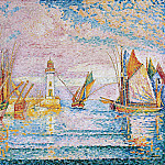 Paul Signac – Lighthouse at Groix, Metropolitan Museum: part 2