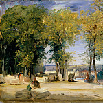 Richard Parkes Bonington – View near Rouen, Metropolitan Museum: part 2