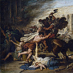François-Joseph Heim – The Sack of Jerusalem by the Romans, Metropolitan Museum: part 2