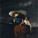 Jean-François Millet – Retreat from the Storm, Metropolitan Museum: part 2