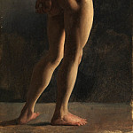 Hippolyte Flandrin – Male Nude, Seen from Behind, Metropolitan Museum: part 2