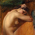 Henri Lehmann – Study of a Female Nude, Metropolitan Museum: part 2