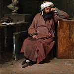 Metropolitan Museum: part 2 - Auguste-Xavier Leprince - Man in Oriental Costume in the Artist's Studio
