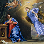 Philippe de Champaigne – The Annunciation, Metropolitan Museum: part 2