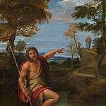 Metropolitan Museum: part 2 - Annibale Carracci - Saint John the Baptist Bearing Witness