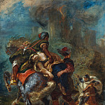 Metropolitan Museum: part 2 - Eugène Delacroix - The Abduction of Rebecca