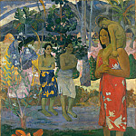 Metropolitan Museum: part 2 - Paul Gauguin - Ia Orana Maria (Hail Mary)
