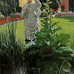 James Tissot – Spring Morning, Metropolitan Museum: part 2