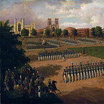 Metropolitan Museum: part 2 - Otto Boetticher - Seventh Regiment on Review, Washington Square, New York