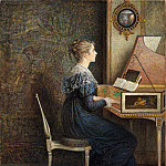 William J. Hennessy – An Old Song, Metropolitan Museum: part 2