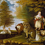 Edward Hicks – Peaceable Kingdom, Metropolitan Museum: part 2