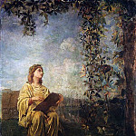 The Muse of Painting, John La Farge