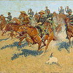 Frederic Remington – On the Southern Plains, Metropolitan Museum: part 2