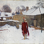 Mannikin in the Snow, John Singer Sargent
