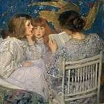 James Jebusa Shannon – Jungle Tales , Metropolitan Museum: part 2