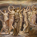 Elihu Vedder – The Pleiades, Metropolitan Museum: part 2