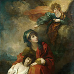 Metropolitan Museum: part 2 - Benjamin West - Hagar and Ishmael