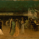 Metropolitan Museum: part 2 - James McNeill Whistler - Cremorne Gardens, No. 2