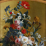 Willem van Leen – Flowers in a Blue Vase, Metropolitan Museum: part 2