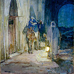 Henry Ossawa Tanner – Flight Into Egypt, Metropolitan Museum: part 2