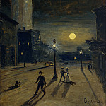 Metropolitan Museum: part 2 - Louis Michel Eilshemius - New York at Night