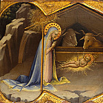 Lorenzo Monaco ca. 1370–1425 Florence ) – The Nativity, Metropolitan Museum: part 2