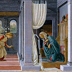 Metropolitan Museum: part 2 - Botticelli (Italian, Florence 1444/45–1510 Florence) - The Annunciation