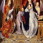 Hans Memling – The Annunciation, Metropolitan Museum: part 2