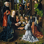 Workshop of the Master of Frankfurt – The Adoration of the Christ Child, Metropolitan Museum: part 2