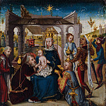 German artist – Adoration of the Magi, Metropolitan Museum: part 2
