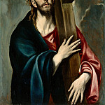 Metropolitan Museum: part 2 - El Greco (Greek, Candia [Iráklion] 1540/41–1614 Toledo) - Christ Carrying the Cross