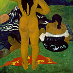 Paul Gauguin – Tahitian Women Bathing, Metropolitan Museum: part 2