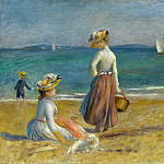 Auguste Renoir – Figures on the Beach, Metropolitan Museum: part 2
