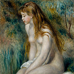 Metropolitan Museum: part 2 - Auguste Renoir - Young Girl Bathing