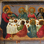 Metropolitan Museum: part 2 - Ugolino da Siena (Italian, Siena, active by 1317–died ?1339/49) - The Last Supper